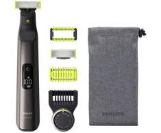 Philips Elektrorasierer OneBlade Pro QP6550/30, Aufsätze: 4, Präzisionskamm mit 14 Einstellungen / Nass oder trocken verwendbar
