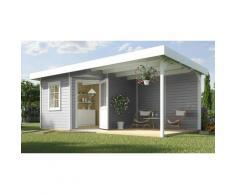 weka Gartenhaus »Stellan 2«, BxT: 646x338 cm, (Set)