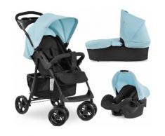 Hauck Kombi-Kinderwagen »Shopper Trioset«, mit Babywanne und Babyschale Kinderwagen