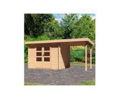 WOODFeeling Gartenhaus »Bastrup 3«, BxT: 515x273 cm, (Set)