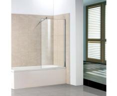 welltime Badewannenaufsatz »Sevilla«, Einscheibensicherheitsglas, (1 tlg), BxH: 90 x140 cm