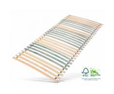 Rollrost, »7 Zonen Rollrost«, Jekatex, 28 Leisten, Kopfteil nicht verstellbar, Fußteil nicht verstellbar, bis 200 kg belastbar