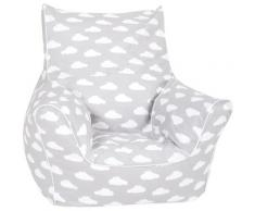 Knorrtoys® Sitzsack »Grey white clouds«, für Kinder Made in Europe