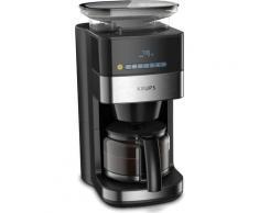 Krups Kaffeemaschine mit Mahlwerk KM8328 Grind Aroma, 1,25l Kaffeekanne, 24-Stunden-Timer