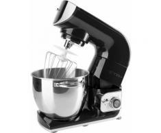 eta Küchenmaschine Gratus Storio schwarz ETA002890064, 1200 W, 5,5 l Schüssel, Edelstahlschüssel, PULSE – Funktion