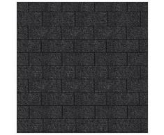 Karibu Pavillon »Holm 2«, (Set), BxTxH: 431x778x318 cm, mit schwarzen Dachschindeln