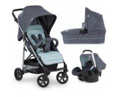 Hauck Kombi-Kinderwagen »Rapid 4 Plus TrioSet, grey/mint«, mit Babyschale Kinderwagen
