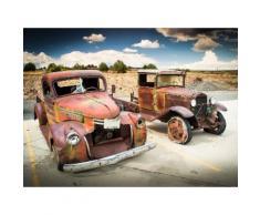 Fototapete »Abandoned Old Cars«, glatt
