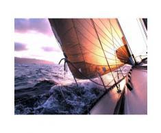 Fototapete »Sailing to Sunset«, glatt