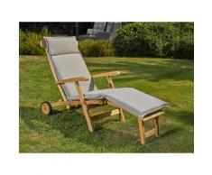 Destiny Polsterauflage »Deckchair«, (1 St), Liegenauflage 185 cm Länge
