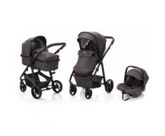 Fillikid Kombi-Kinderwagen »Panther, dunkelgrau«, mit Babyschale Kinderwagen