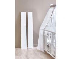 BMG Babymöbel-Set »Luis«, (Set, 3-St), Bett + Wickelkommode + Wandboard