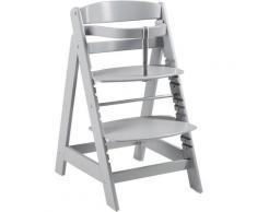 roba® Hochstuhl »Treppenhochstuhl Sit Up Click, taupe« aus Holz