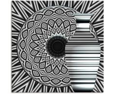 Artland Wandbild »Tajine und Karaffe«, Muster (1 Stück), in vielen Größen & Produktarten - Alubild / Outdoorbild für den Außenbereich, Leinwandbild, Poster, Wandaufkleber / Wandtattoo auch für Badezimmer geeignet