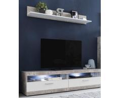 Wilmes Lowboard »MOVE«, Breite 160 cm, inklusive gratis Wandregal, Breite 135 cm