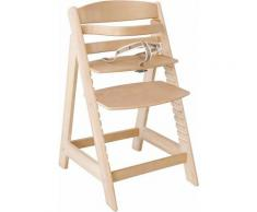 roba® Hochstuhl »Treppenhochstuhl Sit up III, natur« aus Holz