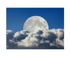 Fototapete »Big Moon and Clouds«, glatt