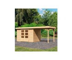 WOODFeeling Gartenhaus »Askola 4«, BxT: 554x238 cm, (Set)