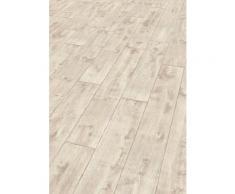 EGGER Laminat »HOME Vinstra Eiche weiß«, Packung, ohne Fuge, 1,985 m²/Pkt., Stärke:8 mm