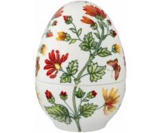 Goebel Osterei »Farbenfrohe Pflanzenwelt« (1 Stück), Ei-Dose aus Porzellan, Höhe ca. 18,5 cm