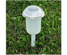 JOKA OUTDOOR Außen-Tischleuchte »Charme«, 6er Set Solarleuchten, mit Erdspieß oder als Tischlampen nutzbar, Farbwechsel, getrennte Schaltung von Ring und Basis