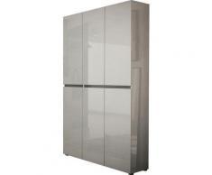 KITALY Schuhschrank »Mister« Breite 120 cm, Höhe 200 cm, 6 Türen