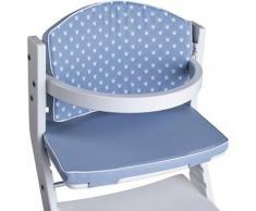 tiSsi® Kinder-Sitzauflage »Kronen blau«, für tiSsi® Hochstuhl Made in Europe