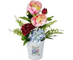 Kunstpflanze Rosen/Hortensie, I.GE.A., Höhe 36 cm
