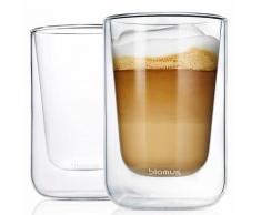BLOMUS Thermoglas »NERO«, Glas, Doppelwandig, Inhalt 250 ml, 2-teilig