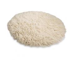 Wollteppich »Flokati XXL«, THEKO, rund, Höhe 100 mm, reine Wolle, handgearbeitet, Wohnzimmer