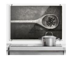 Wall-Art Küchenrückwand »Spritzschutz Kochlöffel Küche«, (1-tlg)