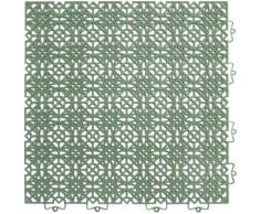 Andiamo Kunststoff-Fliesen »Terra Sol«, Packung, 35 Stk., UV-beständig, 38 cm x 38 cm, 5 qm² insgesamt