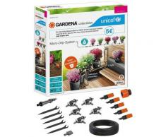 GARDENA Bewässerungssystem »Micro-Drip-System, 13000-51«, (Set, 19-tlg), Start-Set Pflanztöpfe S, UNICEF - Aktion