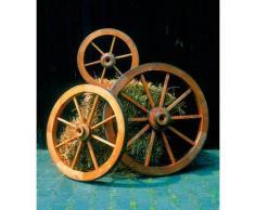 promadino Gartenfigur »Wagenrad«, BxLxH: 90x22x90 cm
