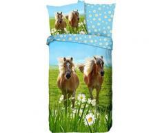 Kinderbettwäsche »Horses«, good morning, mit Pferden
