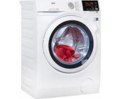 AEG Waschtrockner L7WB58WT, 8 kg, 4 kg 1550 U/min, mit DualSense für schonende Pflege, 4 Jahre Herstellergarantie