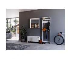 Home affaire Garderoben-Set »Livana«, (Set, 2-St), aus Massivholz