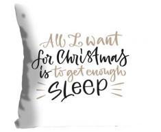 Kissenhülle »SLEEP FOR CHRISTMAS«, queence (1 Stück)