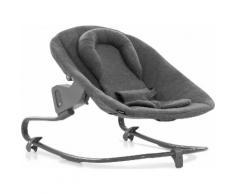 Hauck Hochstuhlaufsatz »Alpha Bouncer Premium, Charcoal«, für Neugeborene mit Wippgestell für Hochstuhl Alpha+ und Alpha+ Select