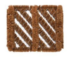Fußmatte »Boot Wiper Kokos Draht«, Andiamo, rechteckig, Höhe 50 mm, Schmutzfangmatte, In- und Outdoor geeignet