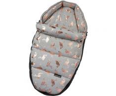Gesslein Babywanne »Baby Nestchen, grau meliert/Flamingos«, für Kinderwagenwannen, Tragetaschen, Babyschalen und den Sportwagensitz des Kinderwagens