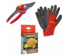 WOLF-Garten Pflanzendünger »Natura Bio«, Granulat, Set, mit Schere und Handschuhe, 0,25 kg