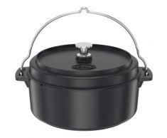 RÖSLE Kochtopf »VARIO«, Gusseisen, (1-tlg), Dutch Oven, Deckel als Pfanne einsetzbar, mit Tragebügel, 8,5 l