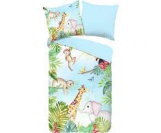 Kinderbettwäsche »Bambini«, good morning, mit niedlichen Dschungel-Tieren