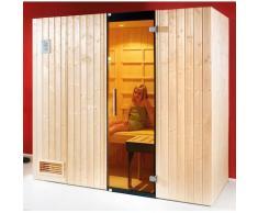 weka Infrarotkabine »Alaro«, BxTxH: 212 x 121 x 199 cm, 76 mm, (Set) inkl. Saunaofen