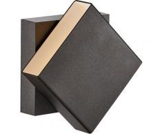 Nordlux LED Außen-Wandleuchte »TURN«, Drehbarer Magnet Schirm, inkl. LED Modul, IP54 für Innen, Außen und Bad