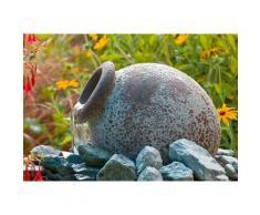 Ubbink Gartenbrunnen »Orange«, 21 cm Breite, Wasserbecken BxT: 40x40 cm, (Amphore Pumpe: 900 l/h, 18 W, 230 V Becken Abdeckrost 10-m-Kabel Anschlussmaterial)
