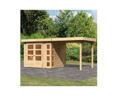 WOODFeeling Gartenhaus »Kerko 3«, BxT: 491x238 cm, (Set)