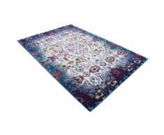 Teppich »Lina«, carpetfine, rechteckig, Höhe 5 mm, floraler Orient-Vintage-Look, Wohnzimmer