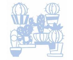 Maskier-Schablone Kaktus, 28,5 x 29 cm
